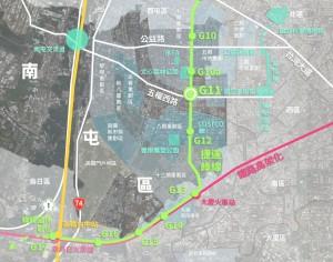 中市捷運綠線G11站土地開發 總銷金額上看31億