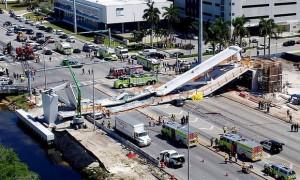 美國佛羅里達國際大學陸橋崩塌 4人死亡