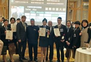 校際盃年輕侍酒師菁英賽   龍華科大游茹珺奪冠