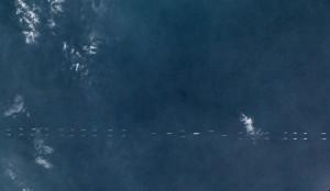 遼寧號航母南海軍演 逾40艦大規模秀實力
