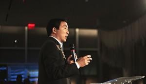 台裔美國總統參選人楊安澤:兩岸保持現狀對各方有利