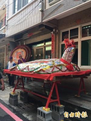 善士乞得2268台斤大米龜  分送低收户吃平安