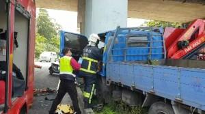 蘇澳台2線小貨車自撞橋墩 駕駛送醫急救不治
