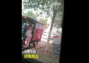 強國男三輪車上猥褻女童 網怒:哪隻手摸的?砍掉!