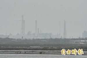 台西灰頭土臉!中國沙塵暴+濁水溪風飛沙 空氣品質「褐爆」