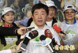 陳時中:已有20國願提案 支持台灣參加WHA大會