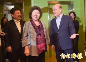 選不選新北市長? 陳菊:蘇貞昌是最強人選