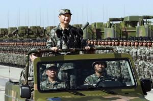 中國9年3場海陸閱兵  凸顯權威出島鏈掌海權