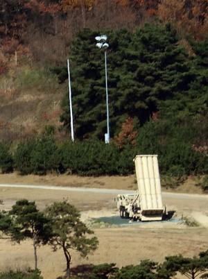 韓民眾阻「薩德」施工 國防部:基地環境差需維修