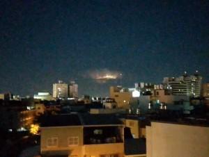每秒達4次!綠島上空對流旺盛狂打雷 遠在台南都看見