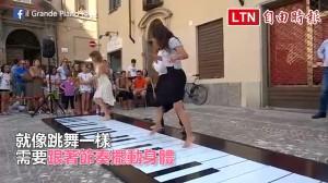 義大利的街頭表演超級酷!「 四腳聯彈」默契大考驗