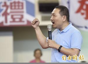 侯友宜暗批蘇貞昌 用總統府、黨的力量選舉