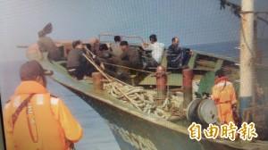 中國漁船越界捕撈   台中海巡押回人船偵辦