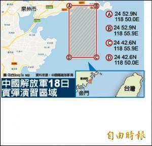 共軍例行軍演稱台海演習 張榮豐:中官媒刻意炒作打心理戰
