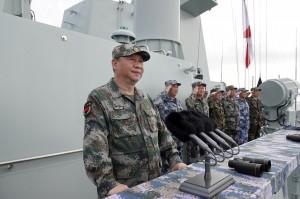 中共海軍明實彈演習 美媒:警告台美別太親近