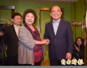 任蘇貞昌競選總部主委 傳陳菊點頭了