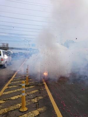 大甲媽祖開始回鑾 烏日分局:民眾鞭炮燃放要小心