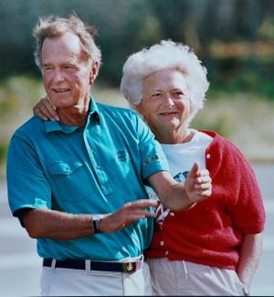 美國前第一夫人芭芭拉‧布希葬禮 川普不出席