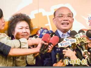 陳菊將任蘇貞昌競總主委?藍營批不中立反遭打臉