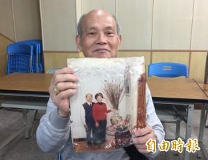 滿滿回憶...花蓮震災2個月後 老夫妻尋回紀念婚照