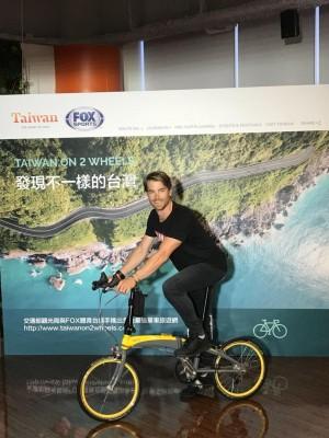 澳洲網紅來台環島9天 分享自行車旅遊