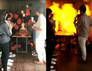 21歲女孩慶生吹蠟燭 引爆氫氣球噴烈焰全身燒燙傷