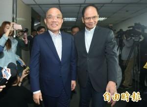 全力支持!游錫堃允任蘇貞昌競選總部榮譽主委