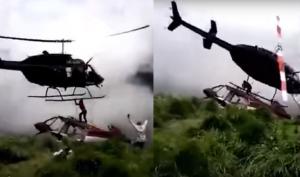 詭異慎入!直升機墜毀生還者 遭救援直升機螺旋槳砍死
