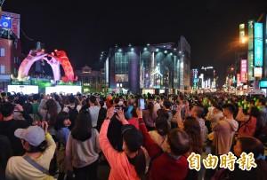 台北燈節明年北門續辦 再納北車行旅廣場