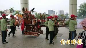 台南「安平迎媽祖上香山」 今日陣頭遶境