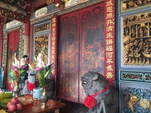 台灣府城隍廟自辦自籌修復 再現潘麗水彩繪門神風華