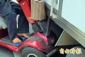 車禍硬拗賠償不成 電動代步車主反被酒駕究辦