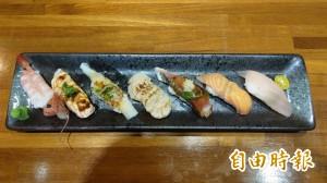 天天吃好料》苗栗苑裡日式料理 在地米握壽司高人氣