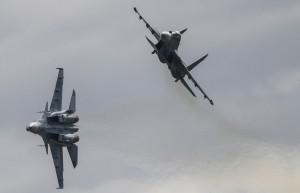 俄羅斯蘇-30戰機墜海 2飛行員死亡