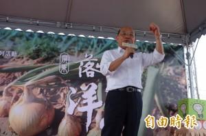 高志鵬反深澳電廠 蘇貞昌:相信民進黨政府負責任、有遠見