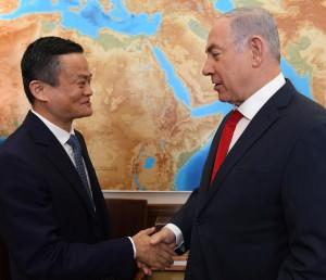 以色列總理當面問馬雲:淘寶買不到我們的導彈吧?