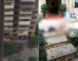 他拍下跳樓影片 走近一看才發現死者是自己阿公