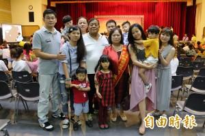 陳仙梅帶兩個兒子現身屏東 大讚自己有個好婆婆
