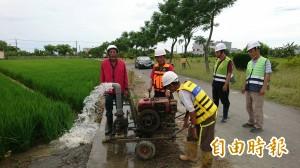 台南農業節水7千萬噸 至月底民生、工業用水可撐1個月