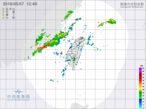 大雨特報!鋒面接近金門變天 新北宜蘭留意午後雷陣雨