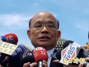 蘇貞昌反對核廢料放新北 並反問侯友宜態度