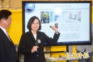 談台北市長選舉 蔡英文:選將知名度夠佈局很快