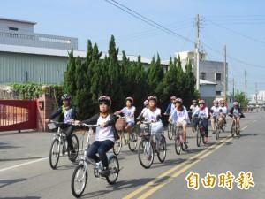 元長騎跡!畢業生自行車環鄉 壯遊45公里留美好回憶