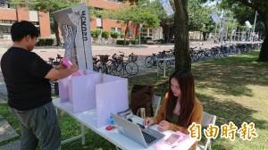 競選廣告史上爆紅 成大學生會長票選出爐