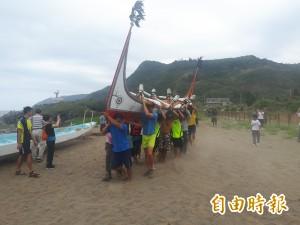 響應蘭嶼環保觀光 拼板舟、龍舟橫渡黑潮