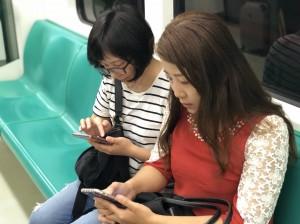 高捷全線車站、列車今起免費上網