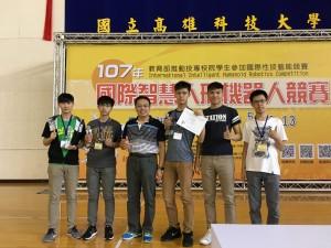 金大生表現「金」彩 機器人競賽勇奪兩金一銅