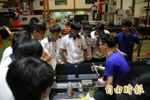 建教生也能變「學霸」! 他們參與精密機械的國際競爭