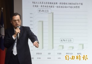 談兩岸關係 陳明通:台灣善意非無止境退讓
