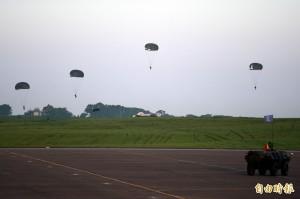 傘兵墜落意外 參謀總長組專案小組調查